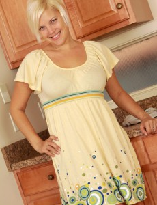 Blond 32 Year Old  Wife Kelly L Receives Nude and  Opens in Here