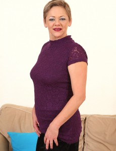 At 52 Years Old Marvelous Linda Baby from  Onlyover30 Looking