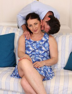 Anna B from  Onlyover30 Receives Her Hirsute and Aged Pussy Pulverized Here