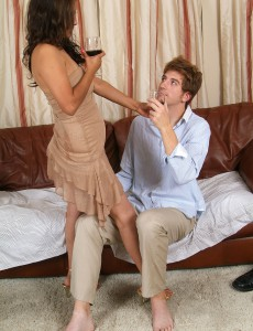 Pervy 32 Year Old Jesse Loves Some Nice Young Cock in Here