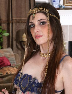Slim Bellydancer  Takes off Nude and Entrances Your Panties with Her Dance