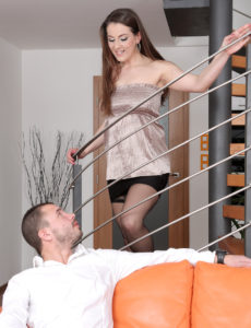 Valentina Ross Comes Downstairs and Gets Fucked